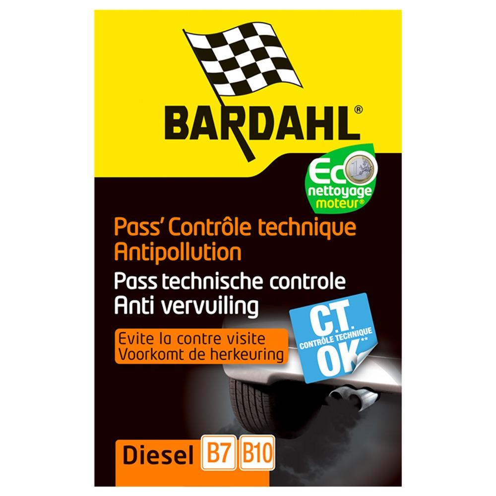 Pass controle technique Bardahl | Actuauto.fr
