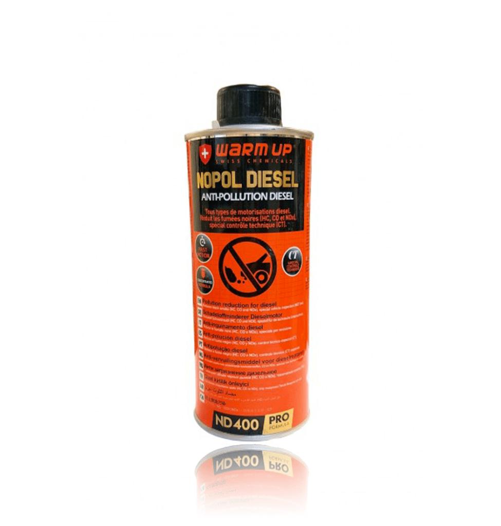 Nopol diesel Nettoyant antipollution WarmUp