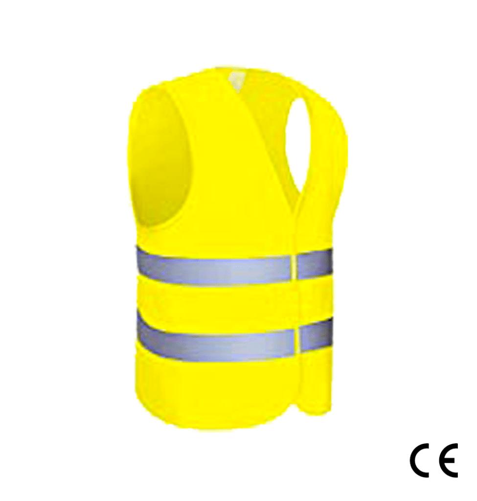Gilet de signalisation, gilet jaune - Actuauto.fr