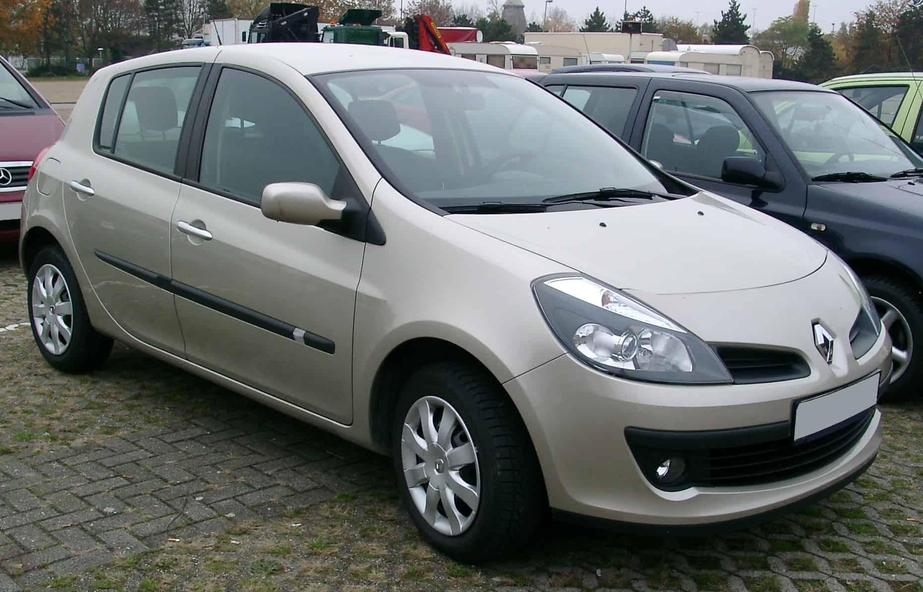 Renault clio 3 de 2006 - L'un des véhicules le plus souvent en révision - Actuauto.fr