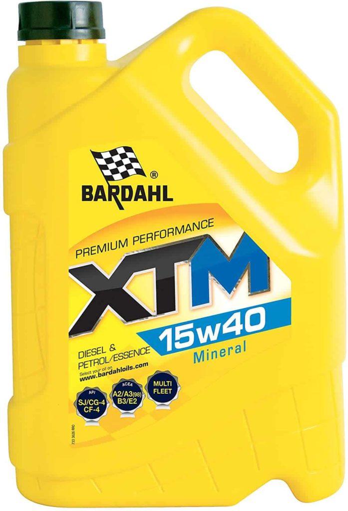 huile de moteur minérale bardahl
