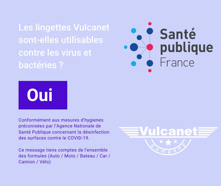L'agence santé publique France recommande Vulcanet - Actuauto.fr