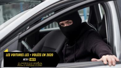Photo of Voitures volées : Classement des 10 véhicules les plus dérobés en 2020