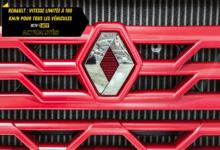 Photo of Renault : vitesse limitée à 180 km/h pour tous les véhicules