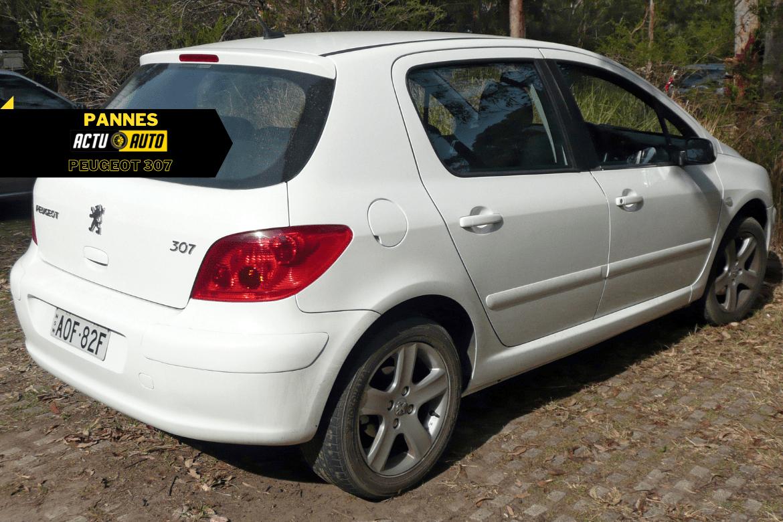 pannes; problèmes Peugeot 307 | Actuauto.fr
