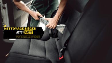 Photo of Comment nettoyer les sièges de voiture en tissu ?