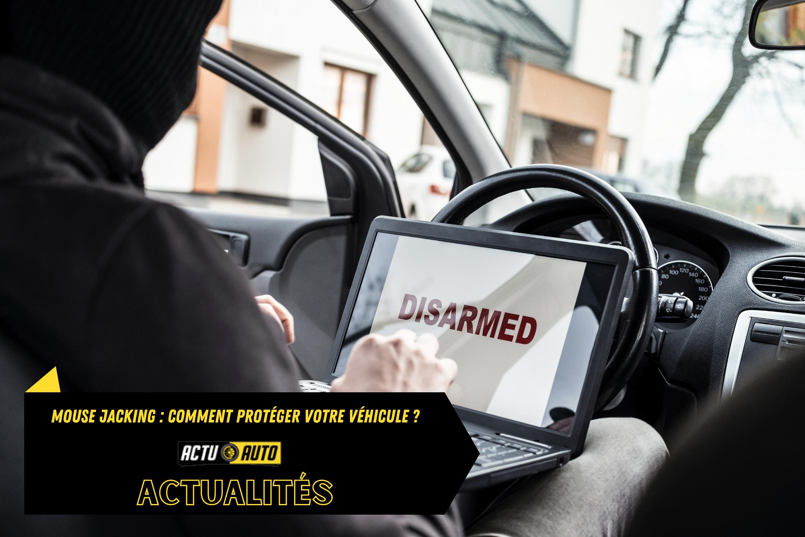 Mouse jacking, comment proteger votre vehicule   Actuauto.fr